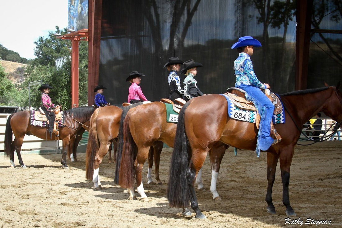 SLOCQHA Mothers Day Circuit, 11 and Under Youth, AQHA