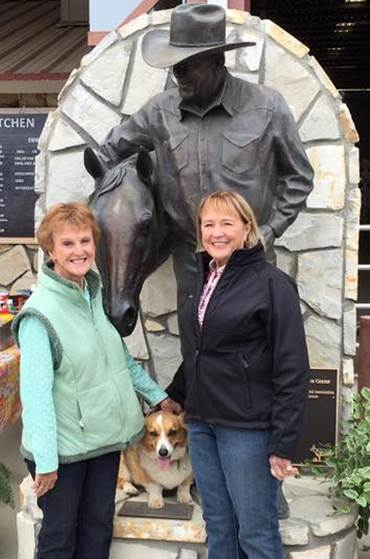 SLOCQHA Mothers Day Circuit, Sandy Arledge, AQHA President, Cynthia Cantleberry