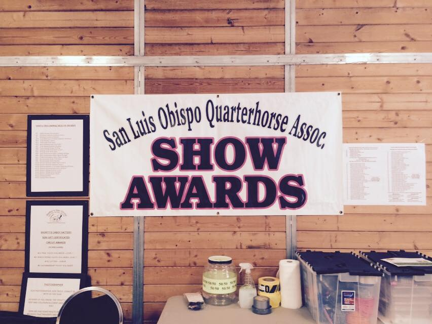 SLOCQHA Mothers Day Circuit, AQHA, Show Awards